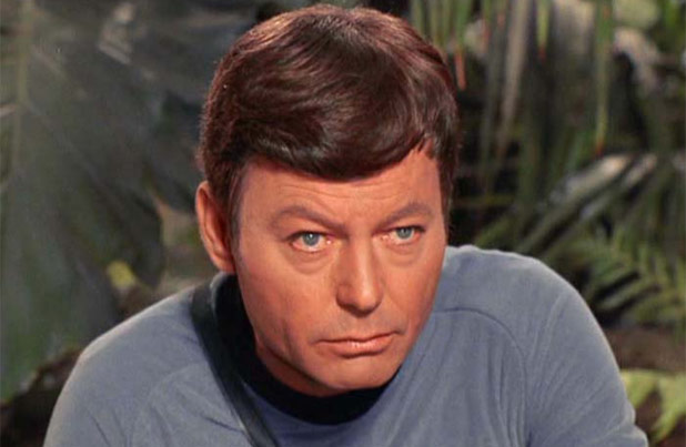 Happy Birthday to Star Trek's DeForest Kelley