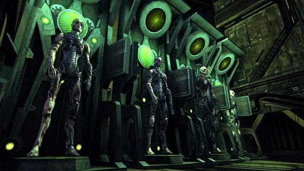 "Star Trek Online ""Hive Mind"" Borg Addon Content Screens"