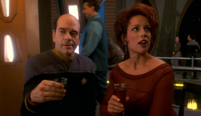 Star Trek's Robert Picardo, Chase Masterson, John Delancie, & Catherine Hicks At Anaheim Comic Con In April
