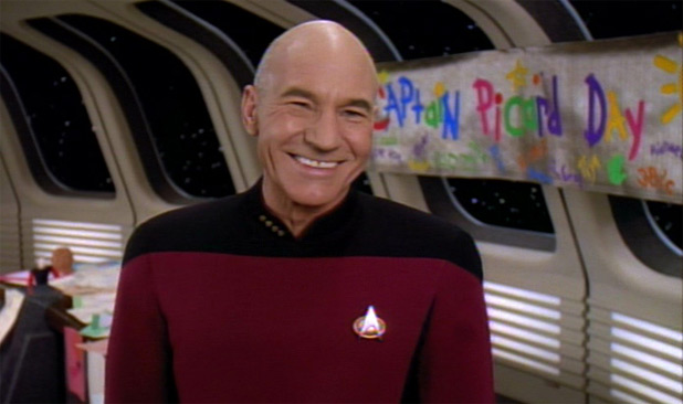 Happy Birthday To Star Trek TNG's Patrick Stewart