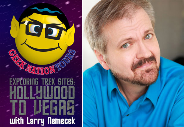Geek Nation Tours Adds 'Exploring Trek Sites: Hollywood To Vegas With Larry Nemecek'