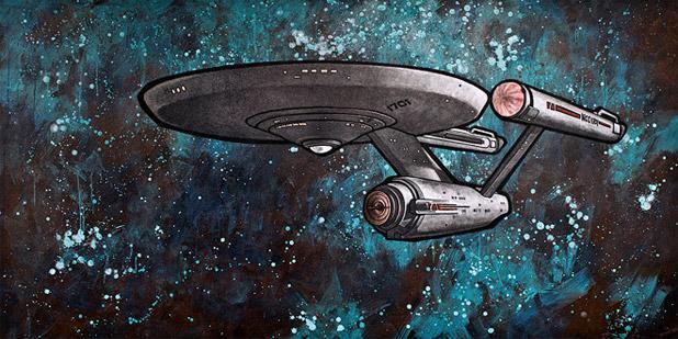 Bye Bye Robot; A New Site For Original Star Trek Fine Art