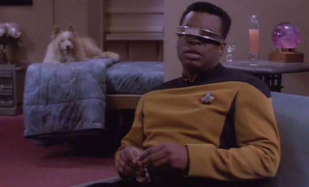 Is This The First Step To Geordi La Forge's Visor?