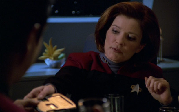 Bid For A Chance To Dine With Captain Janeway... Star Trek Voyager's Kate Mulgrew.