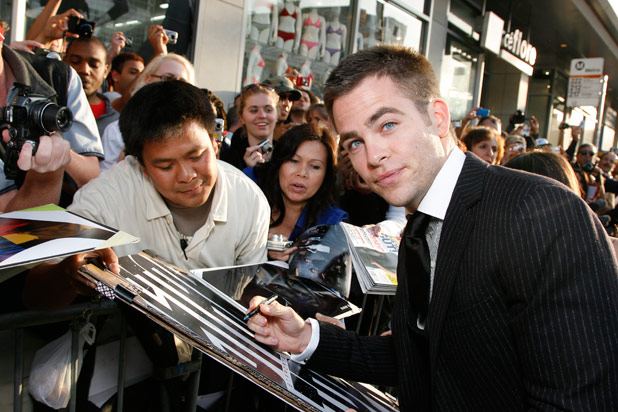 Trek Is 'Wonderful Entertainment' Says Chris Pine