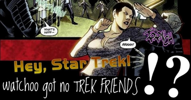 New 'Hey, Star Trek!' Blog Post 'watchoo got no TREK FRIENDS!?'