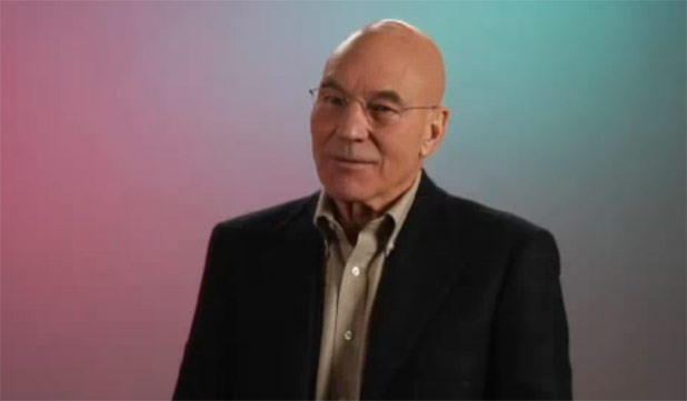 Youtube Video Round-up: Patrick Stewart Edition