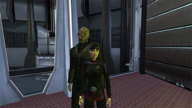 Star Trek Online - Beth in her Jupiter Uniform