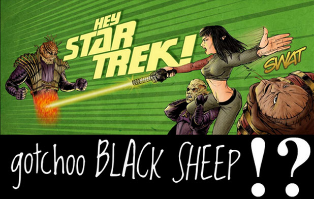 'Hey, Star Trek!  gotchoo BLACK SHEEP!?' New Blog Post By Jerad Formby