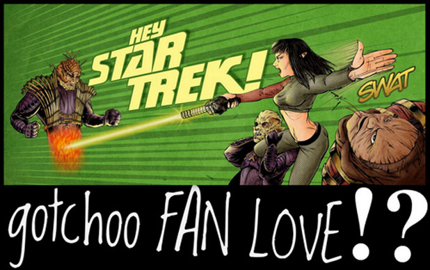 'Hey, Star Trek!  gotchoo FAN LOVE!?' New Blog Post By Jerad Formby