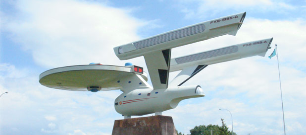 Star Trek Tourism Increased To Warp 9 In Vulcan, Alberta