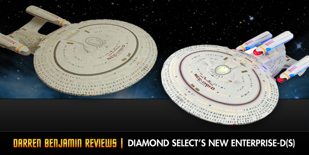 Toy Review - Diamond Select's 'All Good Things' Enterprise-D By Darren Benjamin