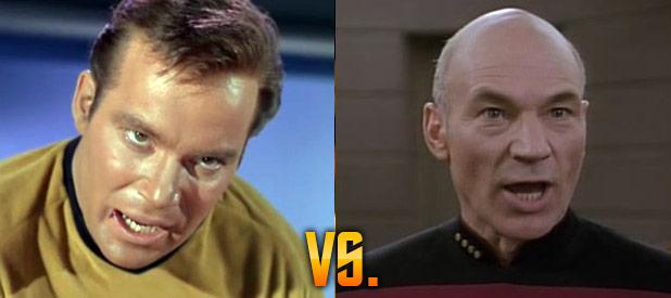Geek Debates: Kirk vs. Picard