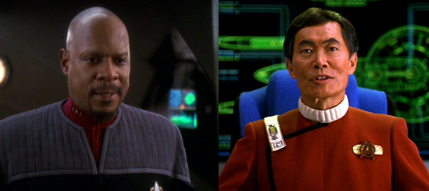 Captain Sisko & Captain Sulu Visit The Franklin This Summer In Philadelphia.