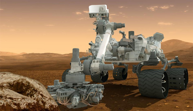 NASA's Mars Curiosity Rover Videos with Shatner And Wheaton For Your Listening Pleasure