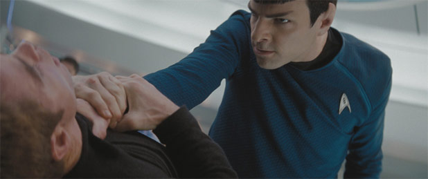 New Spock's Run-in With The Fuzz