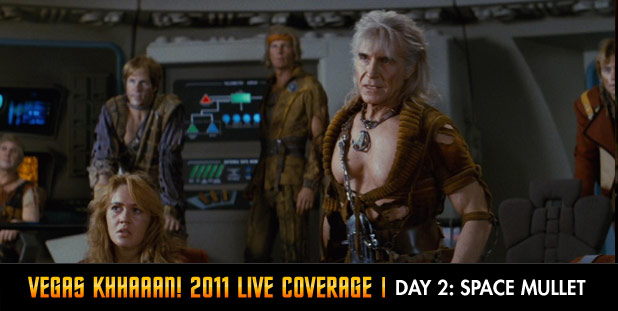 Vegas Khhaaan! 2011 Live Coverage Day 2: Space Mullet
