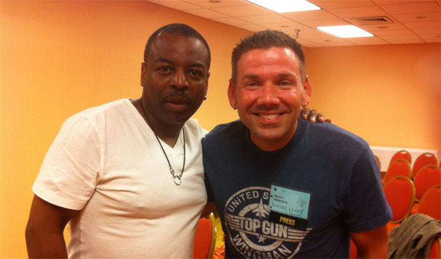 Star Trek: TNG's LeVar Burton Interview On The SciFi Diner Podcast