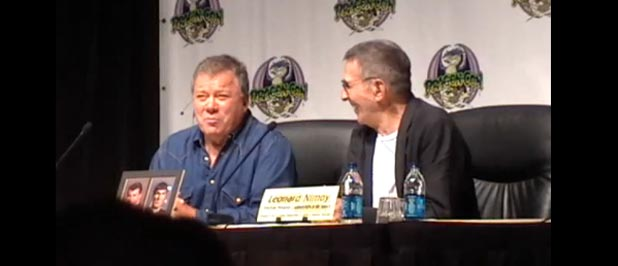 Dragon-Con Leonard Nimoy Panel w/ William Shatner Video