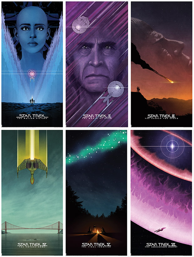 New Star Trek Poster Release From Bye Robot6 Movie Lithographs
