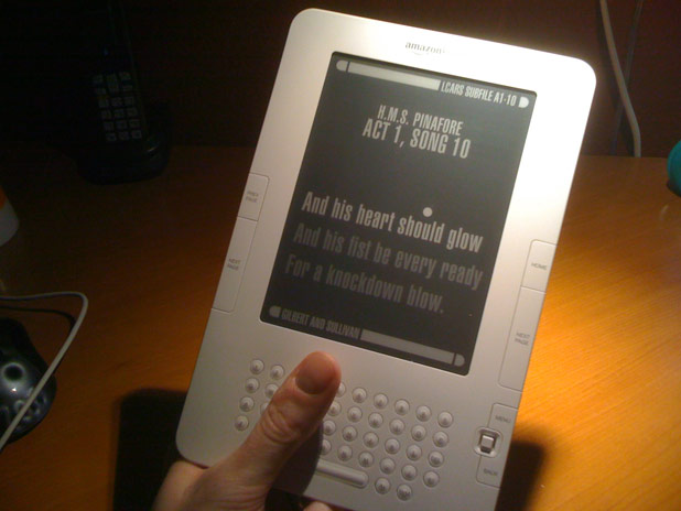 PADDed Kindle