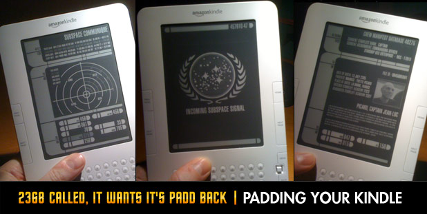 2368 Called, It Wants It's PADD Back - PADDing Your Kindle