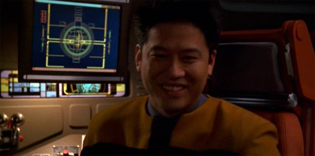 """Just Make Him Normal"" Says Garrett Wang to Voyager Producers."