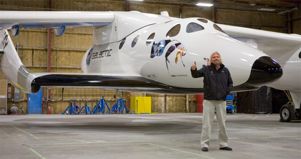 Virgin Galactic Names Space Ship Two; VSS Enterprise